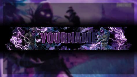 Fortnite Raven Youtube Banner