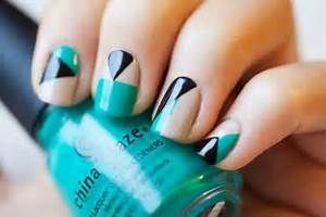 Amazing diy nail art ideas using scotch tape style motivation