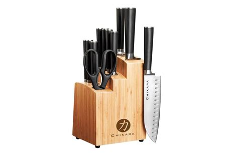 knife sets japanese kitchen chikara gourmet ginsu amazon 1178 stars