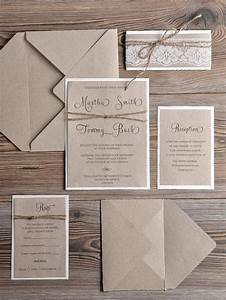 rustic wedding invitations 20 country style lace With order rustic wedding invitations online