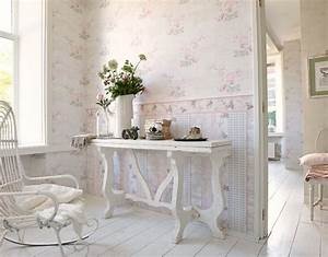 Tapete Blümchen Landhausstil : tapete landhaus blumen creme rosa gr n djooz 95667 1 in 2019 landhaus tapete vintage tapete ~ A.2002-acura-tl-radio.info Haus und Dekorationen