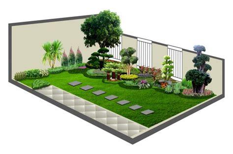 tanaman hias rumput taman inspirasi cara menghias halaman rumah kecil cantik