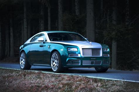 mansory rolls mansory tunes the rolls royce wraith 740hp carbon fibre