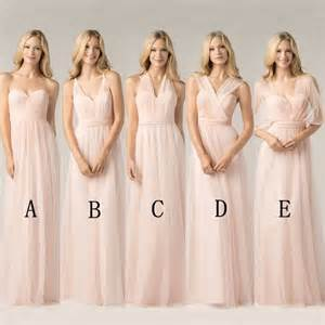 blush pink bridesmaid dress 25 best ideas about blush pink bridesmaid dresses on pink bridesmaids pink
