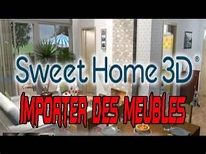 comment importer des meubles sur sweet home 3d 52 youtube With sweet home 3d meubles