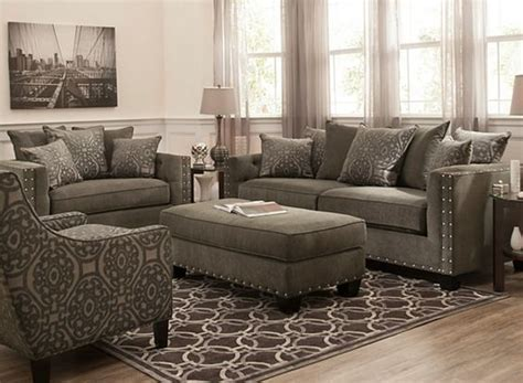 Raymour And Flanigan Living Room Furniture Sets by Calista Microfiber Chair And A Half