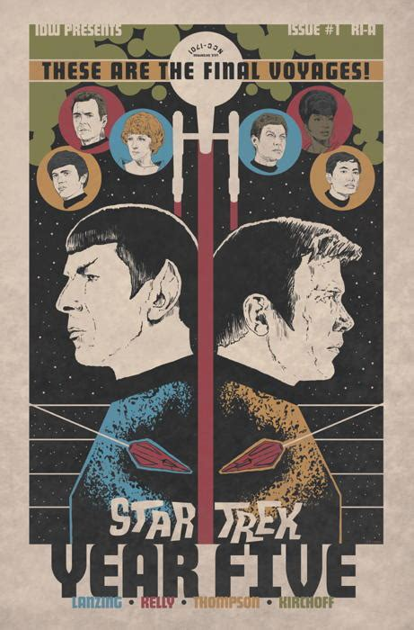 star trek year   idw