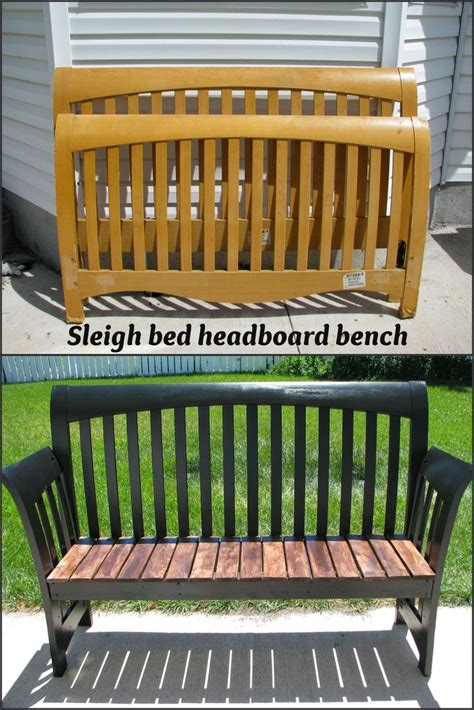 Where Can I Buy A Headboard For My Bed by My So Called Diy Sleigh Bed Headboard Bench Diy