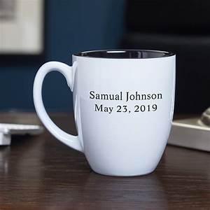 Personalized, Coffee, Mug, White