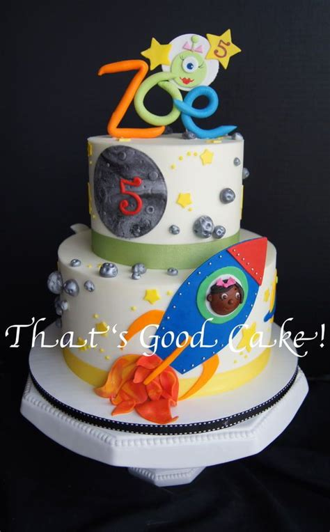 images  astronautspace cakes  pinterest