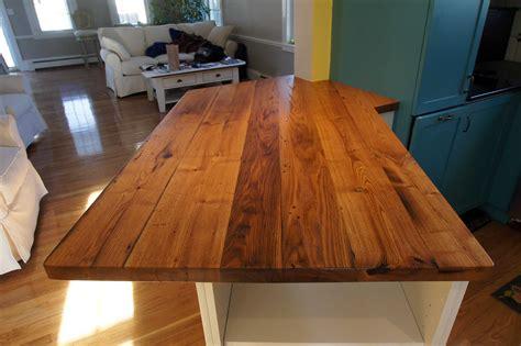 wood countertops for sale longleaf lumber reclaimed chestnut countertop