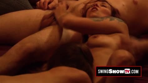 Hot Brunette Is Moaning Out Loud While Having Softcore