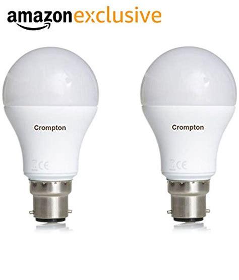 33% Off On Crompton B22 18watt Led Bulb (pack Of 2, Cool