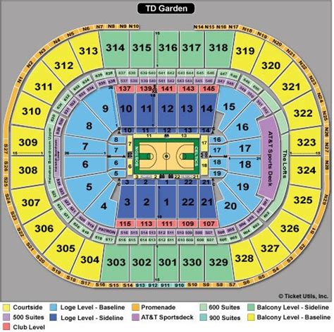 Td Garden Concert Seating - boston celtics tickets 2018 celtics ticketcity