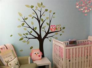 Nursery wall decals and how to apply them keribrownhomes