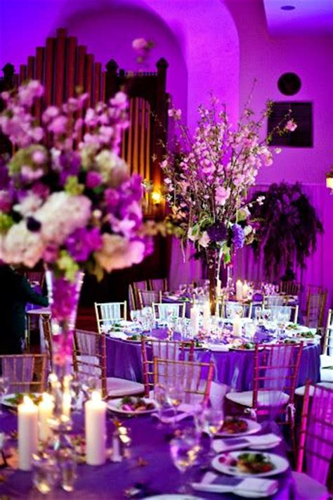 wedding decor purple lilac plum sashes overlays etc receptions other and