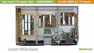 Lg Plasma Tv Repair - How To Replace Ebr62294102 Ysus Board In Lg 50pk Plasma Tvs