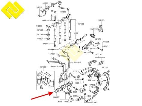 Citroen Fuel Pressure Diagram by Fuel Pressure Sensor 55pp06 03 5ws40039