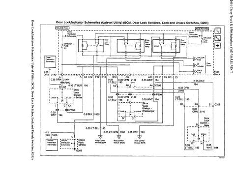 2001 Suburban Door Wiring Diagram 2001 suburban 4x4 lt only driver s door will lock from