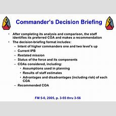 Army Briefing Template Fm 3435 Appendix C Request And Report