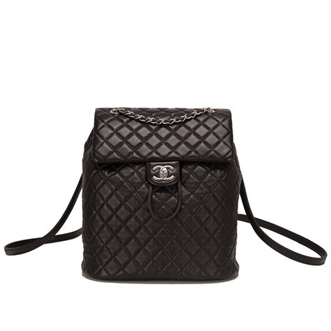 chanel quilted backpack chanel spirit black quilted lambskin large backpack