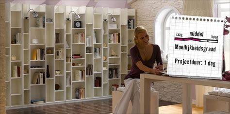 zelf een boekenkast maken boekenkast maken handleiding hornbach