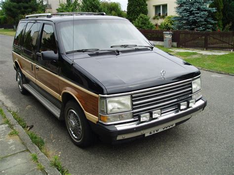 Chrysler Plymouth Voyager by 1986 Chrysler Voyager Grand Voyager 2 6 156 Cui