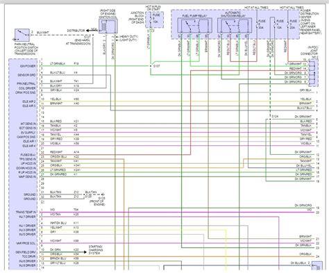 99 Dodge Ram 1500 5 2 Ecu Wiring Diagram by No Spark No Fuel Link Error To Pcm