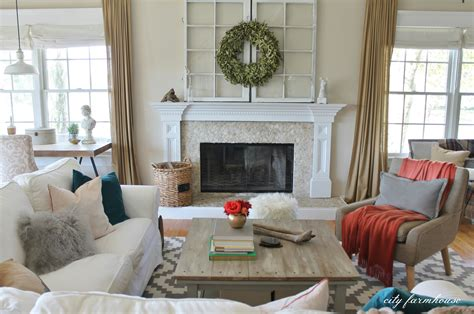 Rustic Chic Family Room + New Rug