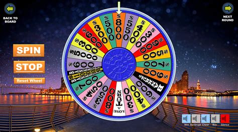 wheel  fortune powerpoint template junkyggett