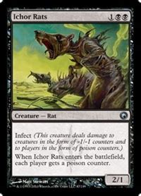 Rat Deck Mtg Tcgplayer by Ichor Rats Creature Cards Mtg Salvation