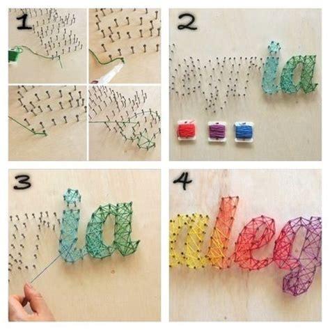 Room Decorations Diy by 15 Ideas To Make String Arts Diy String String
