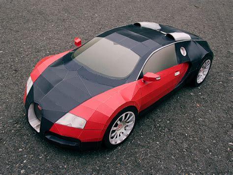 Bugatti Veyron En Papercraft