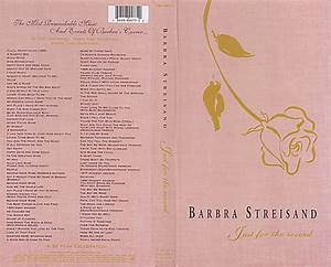 Barbra Streisand - Just For The Record (1991) [2003