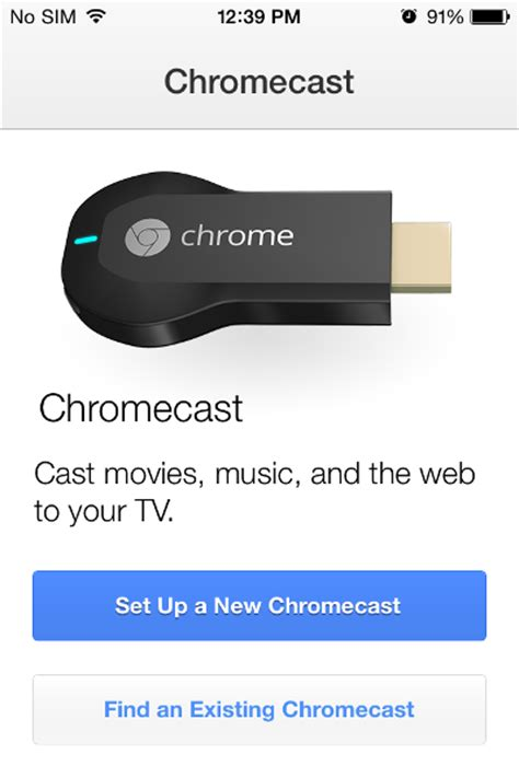 connect iphone to chromecast how to install and setup chromecast on your iphone