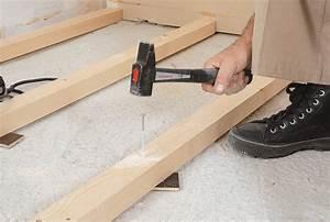 Poser Cheville Molly : poser du parquet clou bricolage avec robert ~ Premium-room.com Idées de Décoration