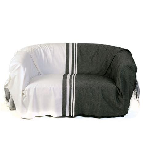 jeté pour canapé jeté pour canapé format rectangulaire noir et blanc 100