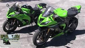 2013 Kawasaki Ninja 636 Zx6r  U0026 Ninja Zx10r Side By Side Comparison