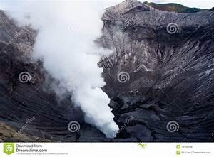 Smoke Plume Of Mt. Bromo Royalty Free Stock Photos - Image ...