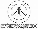 Overwatch Coloring sketch template