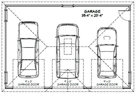2 Car Garage Door Dimensions Venidamius