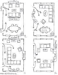 furniture setup  rectangular living room google