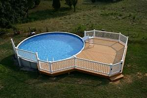 swimming pool decks above ground designs geotruffecom With above ground swimming pool deck designs
