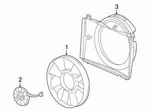 Gmc Envoy Xl Engine Cooling Fan Shroud  Make  Liter