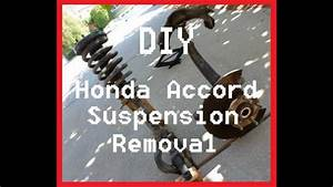 Diy Honda Accord Front Suspension Removal
