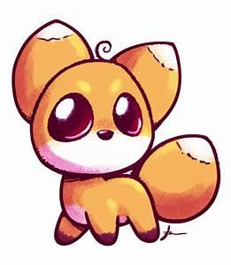 cute fox   cute anime fox drawing   desenhos   Pinterest ...