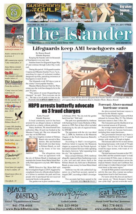 The Islander Newspaper E Edition: Wednesday May 31 2017