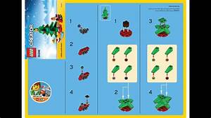 Lego 30286 Christmas Tree Instructions Lego Seasonal 2015