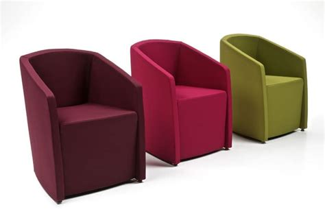 Tub Armchair, Deformable Structure, For Waiting Room