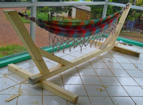 hammock stand indoor outdoor woodworking wood